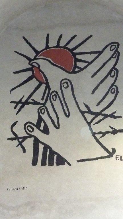 Wandgemälde von Léger