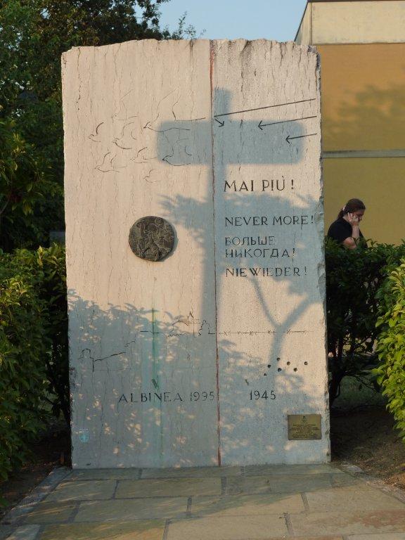 Denkmal für die gefallenen Partisanen in Albinea