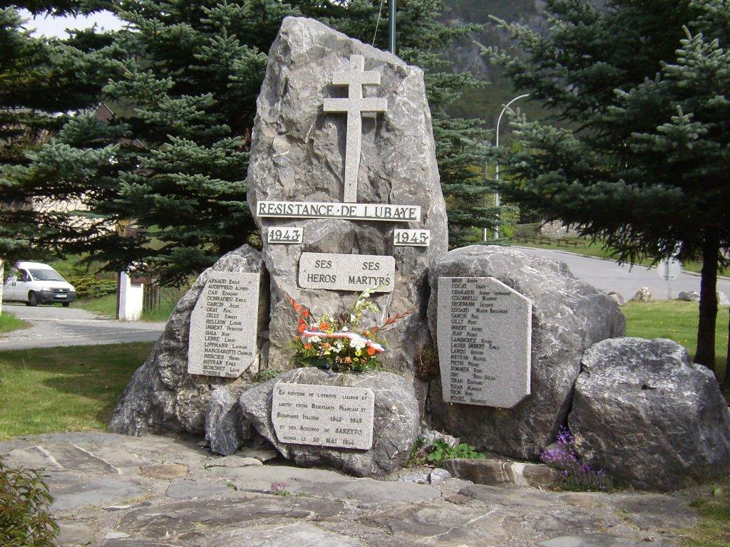 Résistance-Denkmal Ubaye-Tal