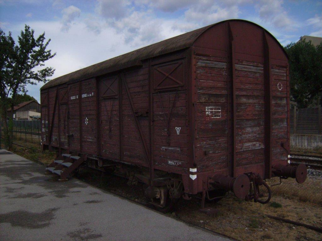 Deportations-Güterwagen