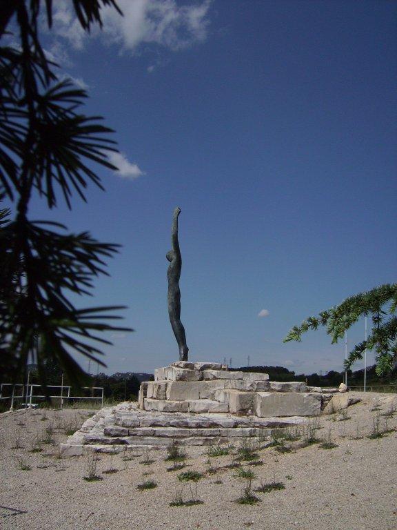 Jean-Moulin-Denkmal bei Salon-de-Provence