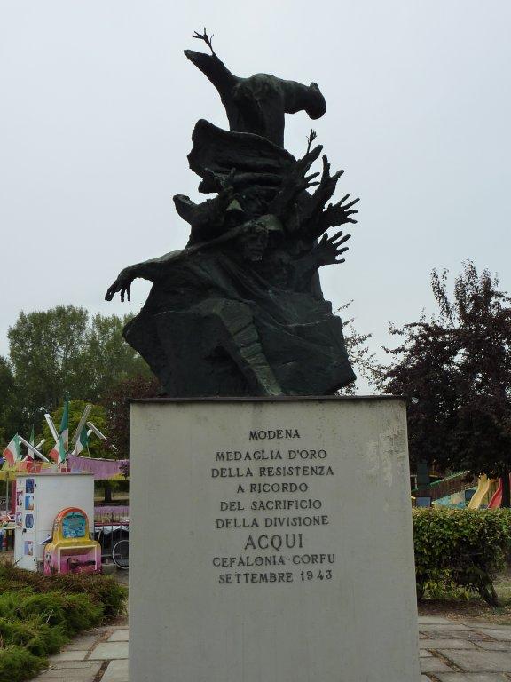 Denkmal für die Soldaten der Division Acqui