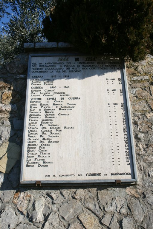 Gedenktafel in Massaciuccoli (Foto: Baldini)