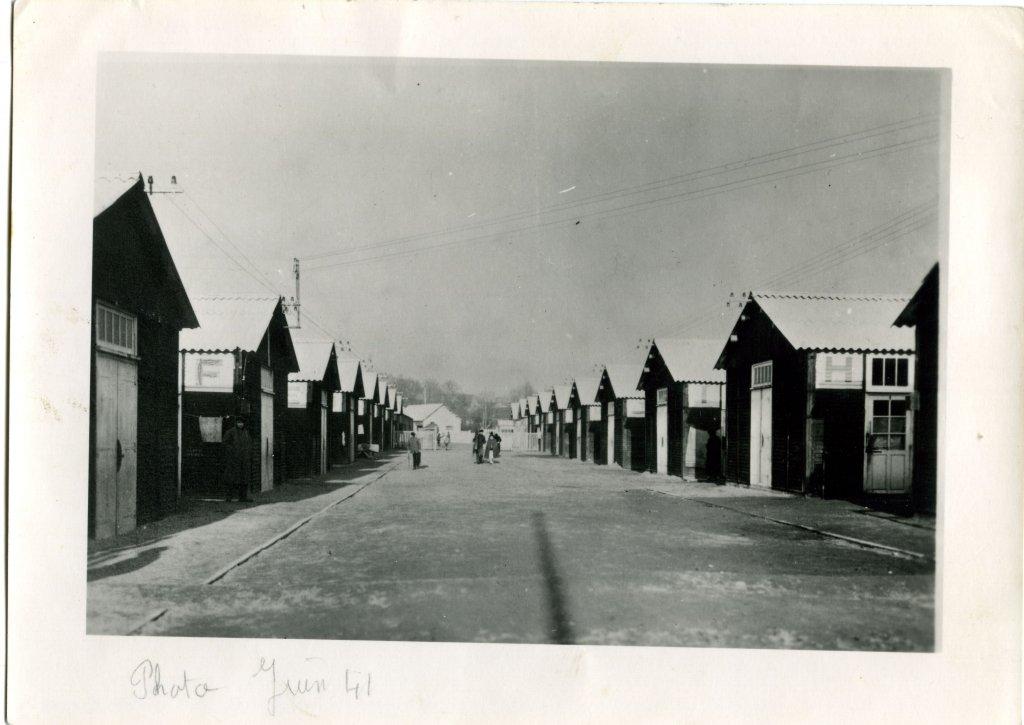 Historisches Foto des Lagers (© CERCIL, Orléans)