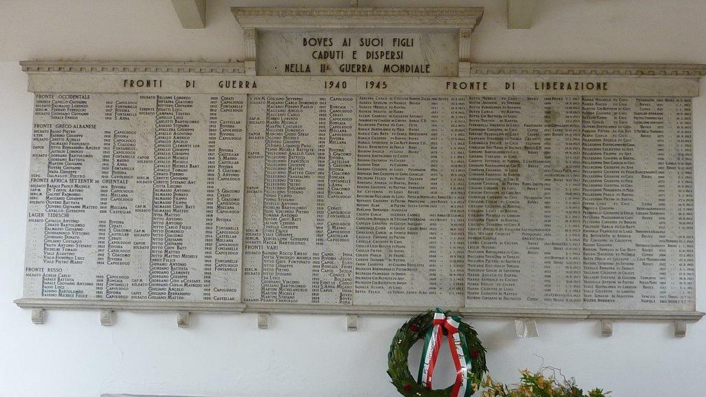 Gedenktafel in der Halle des Rathauses