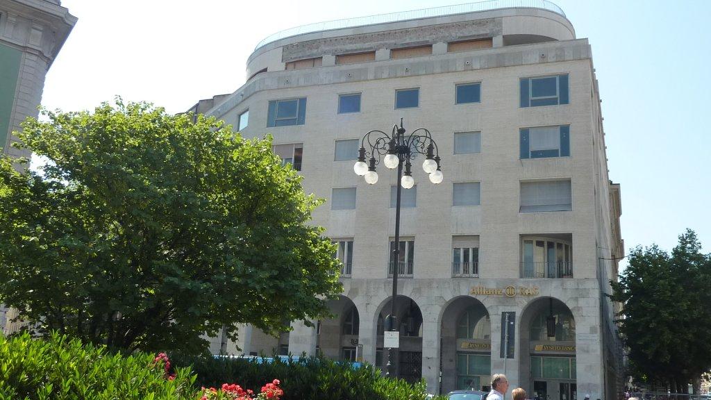 Ex-Gestapo-Zentrale an der Piazza Oberdan
