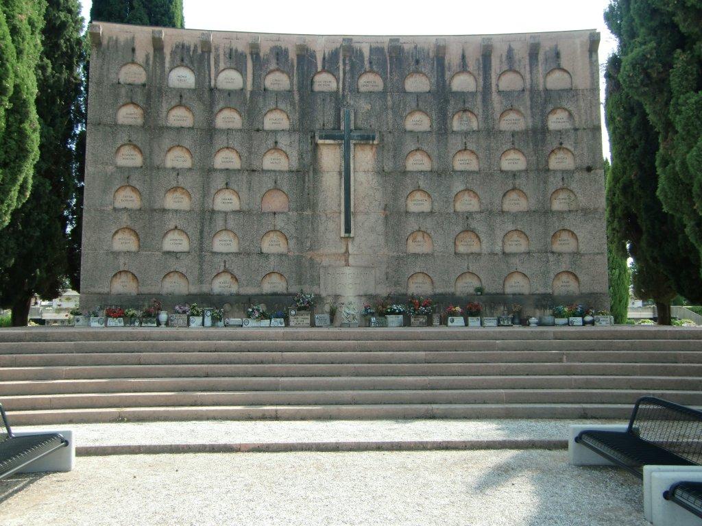 Gedenkstätte auf dem Cimitero