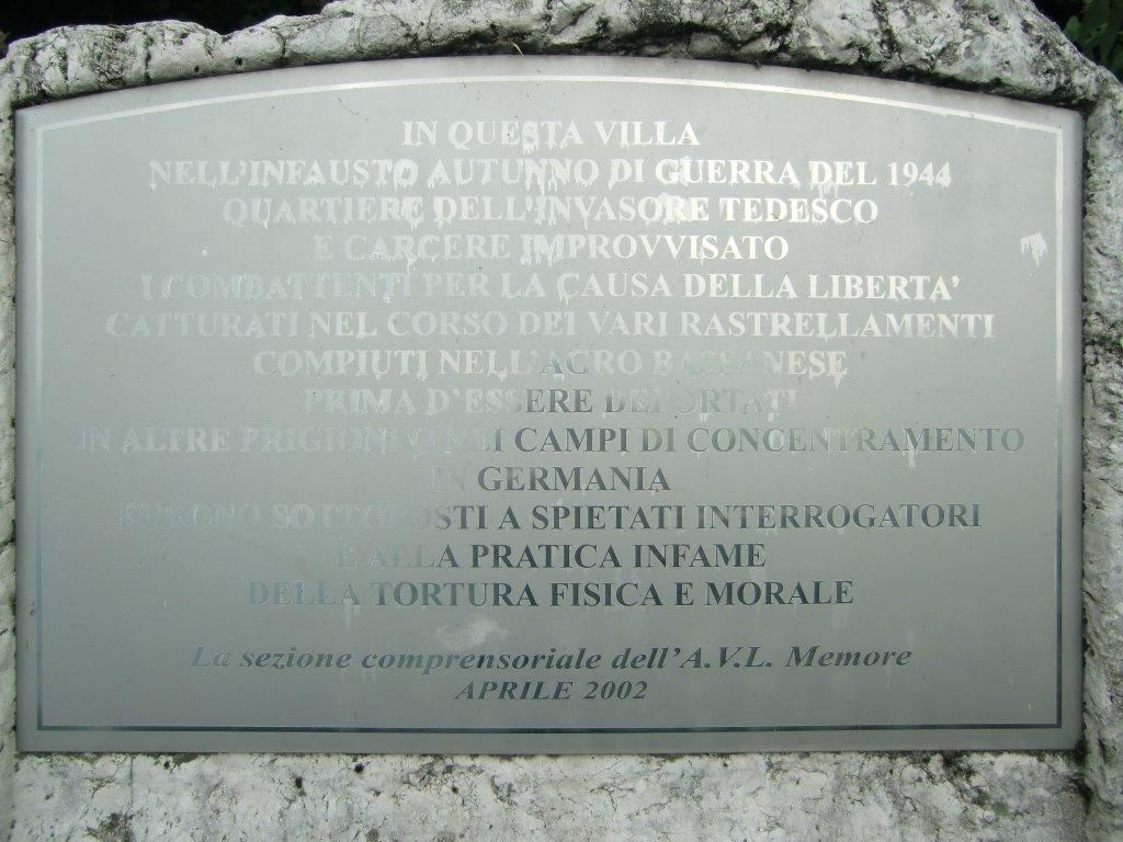 Inschrift auf dem Gedenkstein