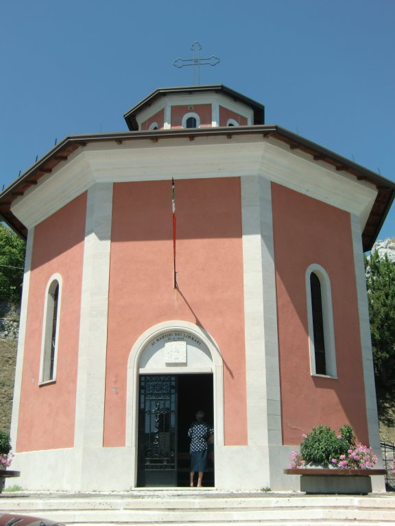 Kapelle in Pietransieri