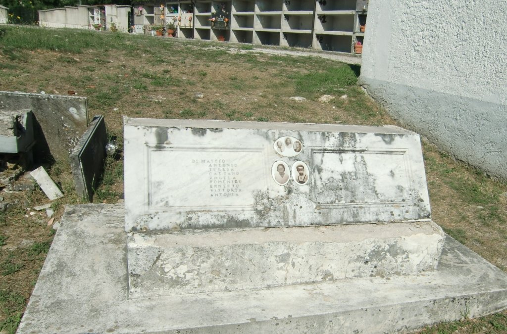 Grab der Familie Di Mascio
