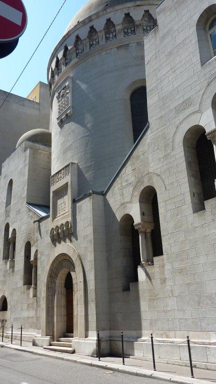 Die Synagoge von Triest