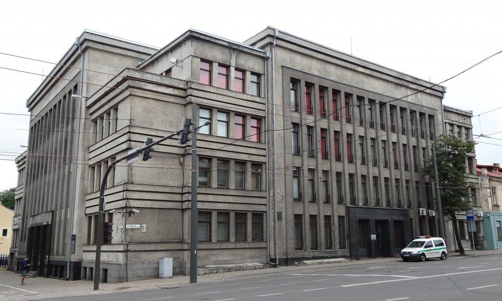 Zentrale des ehemaligen EK 3, heute Sitz der Kriminalpolizei