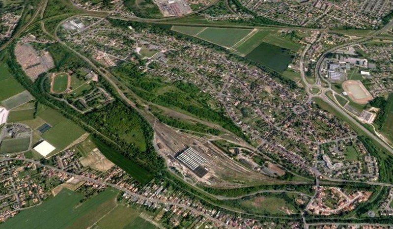 Cité des Cheminots; Quelle: Le Lensois Normand