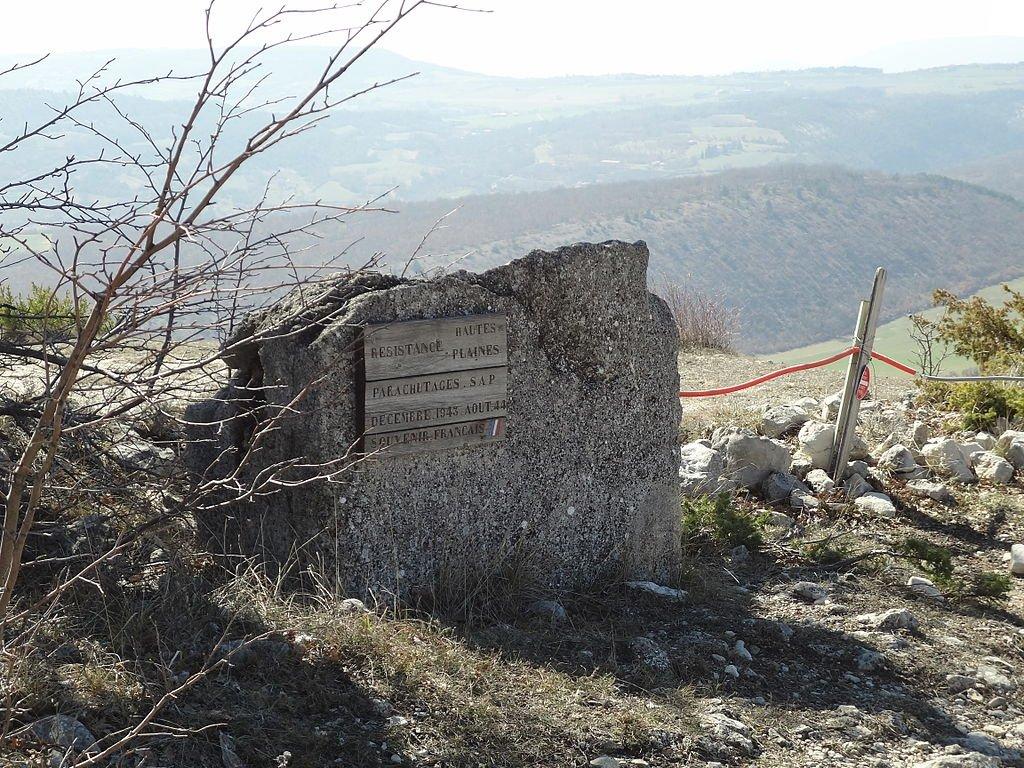 Fallschirmabwurfplatz 'Hautes-Plaines'; Quelle: S. Thébault, Wikipedia, CC BY-SA 3.0