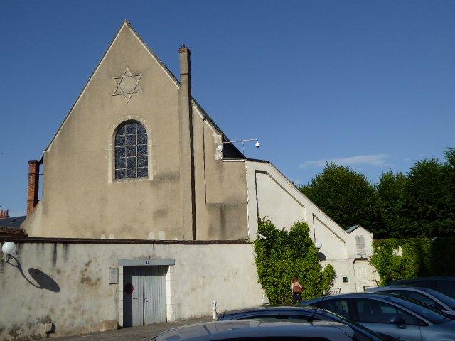 Versammlungsort der jüdischen Gemeinde