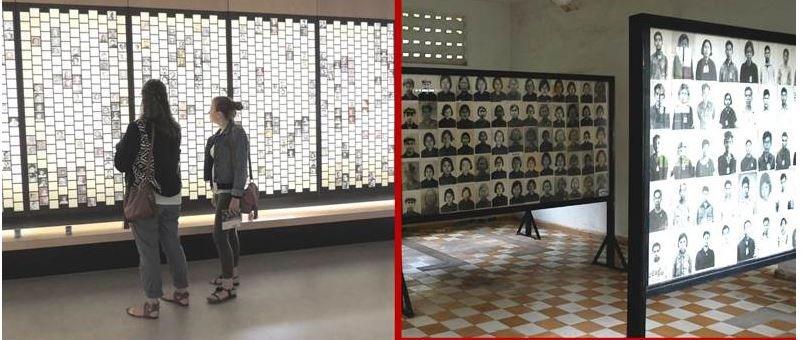 Fotogalerie ermordeter jüdischer Kinder; mit frdl. Genehmigung des Cercil
