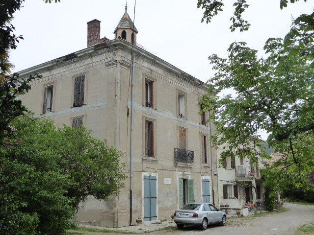 Gedenktafel an Bauernhaus 'La Clémente'