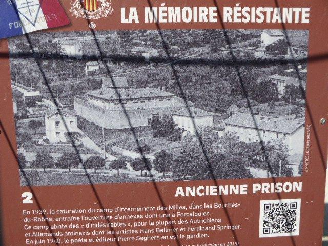 Forcalquier – ehem. Nebenlager Les Milles; hist. Aufnahme, Quelle: Ville de Forcalquier