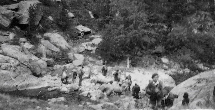 """Exodus"" 1943/Aufstieg zum Pass; ©  ajpn.org/C.Roman"