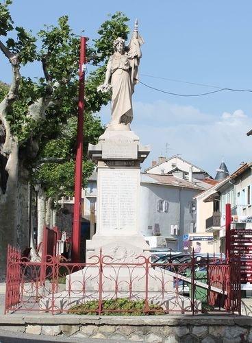 Totendenkmal; Quelle: René Bassul, genweb, CC BY-NC-SA 2.0