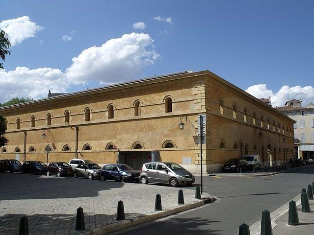 altesGefängnis, heute Annex des Cour d'Appel ; Quelle: Malost, wikimedia