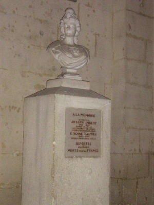 Gedenktafel Gautier und Imbert; Quelle: St. Protois, genweb, CC BY-NC-SA 2.0