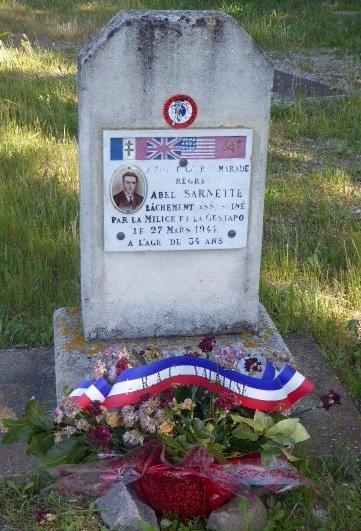 Gedenkstein André Sarnette
