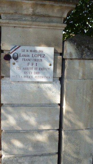 Gedenktafel Louis Lopez; Quelle: Anacr 84