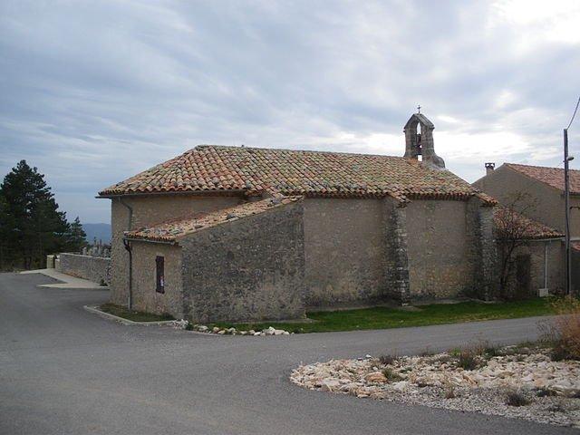 Kapelle ND des Abeilles; Quelle: wikimedia, Véronique Pagnier