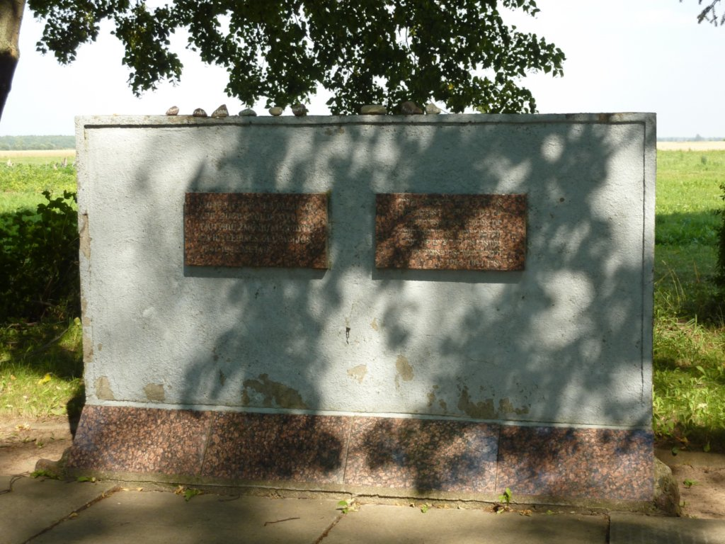 Gedenkstätte Žyniai