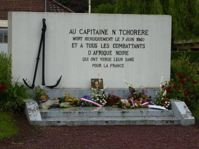 Denkmal Charles N'Tchoréré
