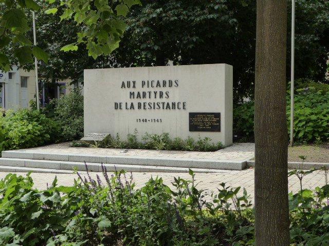Widerstands- und Deportiertendenkmal der Picardie