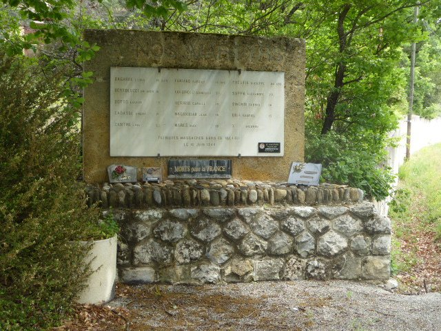 Denkmal der 15 Erschossenen