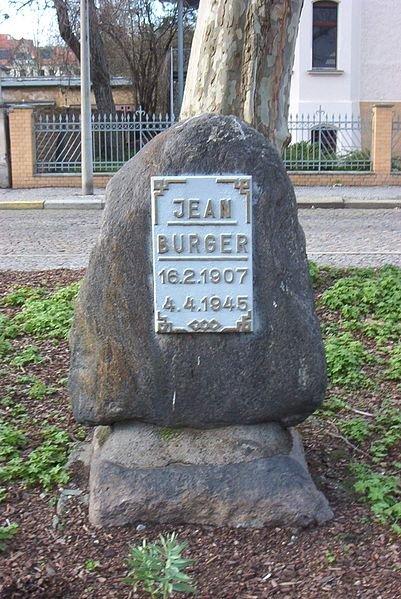Gedenkstein in Magdeburg; Quelle: Wikimedia, CC BY-SA 3.0
