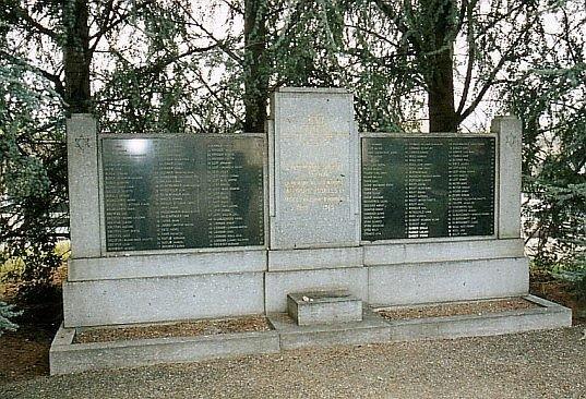 Denkmal ermordete Juden; Foto: alemannia judaica