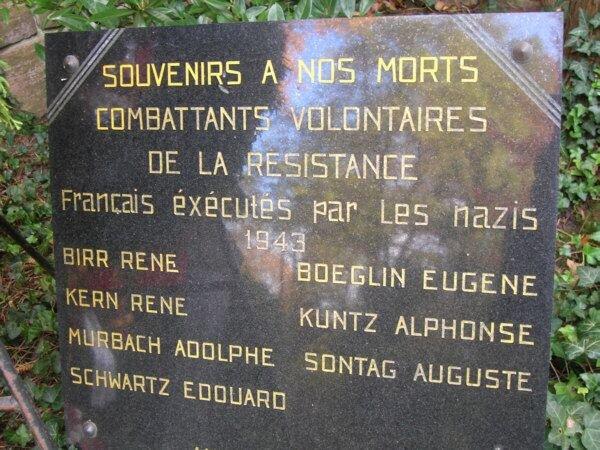 Denkmal für Elsässer Widerstandskämpfer in Heidelberg; Quelle: via-momentum.de