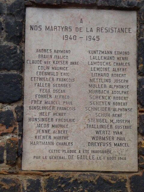 Gedenktafel an Dominikanerkirche