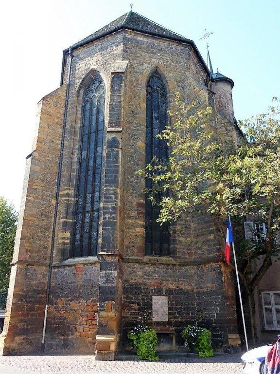Résistance-Denkmal an Dominikanerkirche