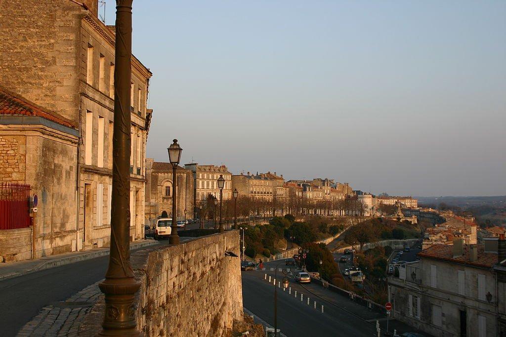 Südliche Festungsmauer in Angoulême