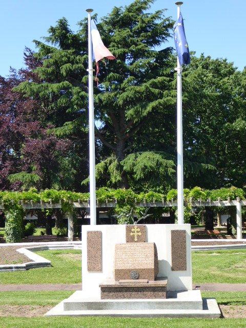 Gedenkstein Kämpfer des Freien Frankreichs