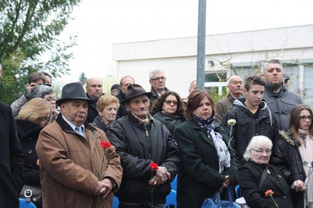 Gedenkzeremonie zum 70. Jahrestag der Lager-Schließung