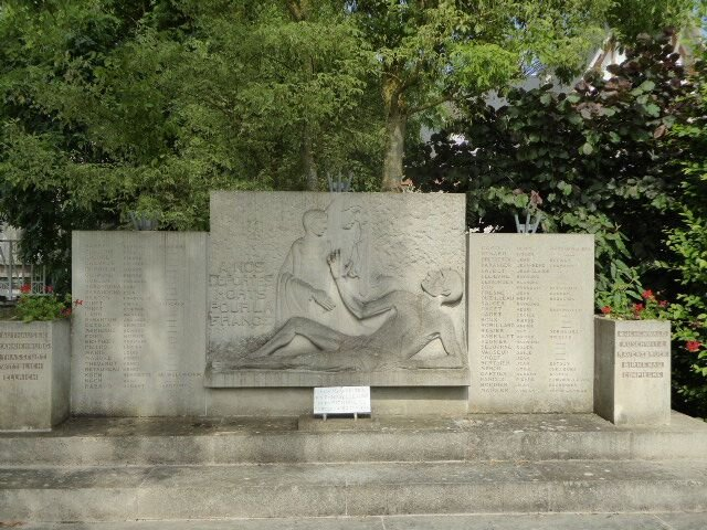 Deportations-Denkmal in Pithiviers