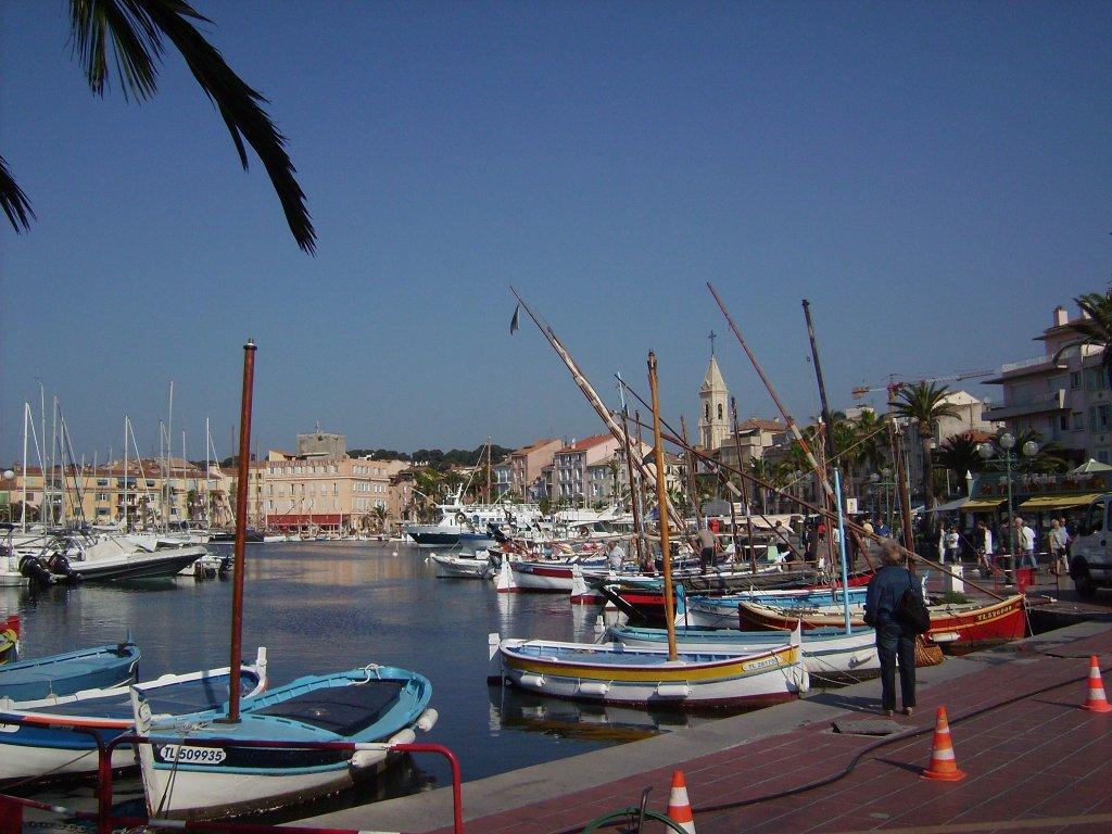 Hafen von Sanary-sur-Mer. Quelle: wikimedia