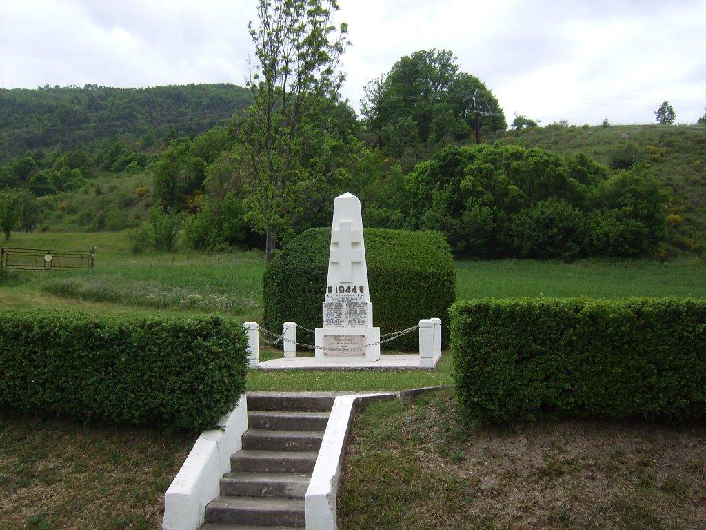 Bayons – Maquisard-Denkmal