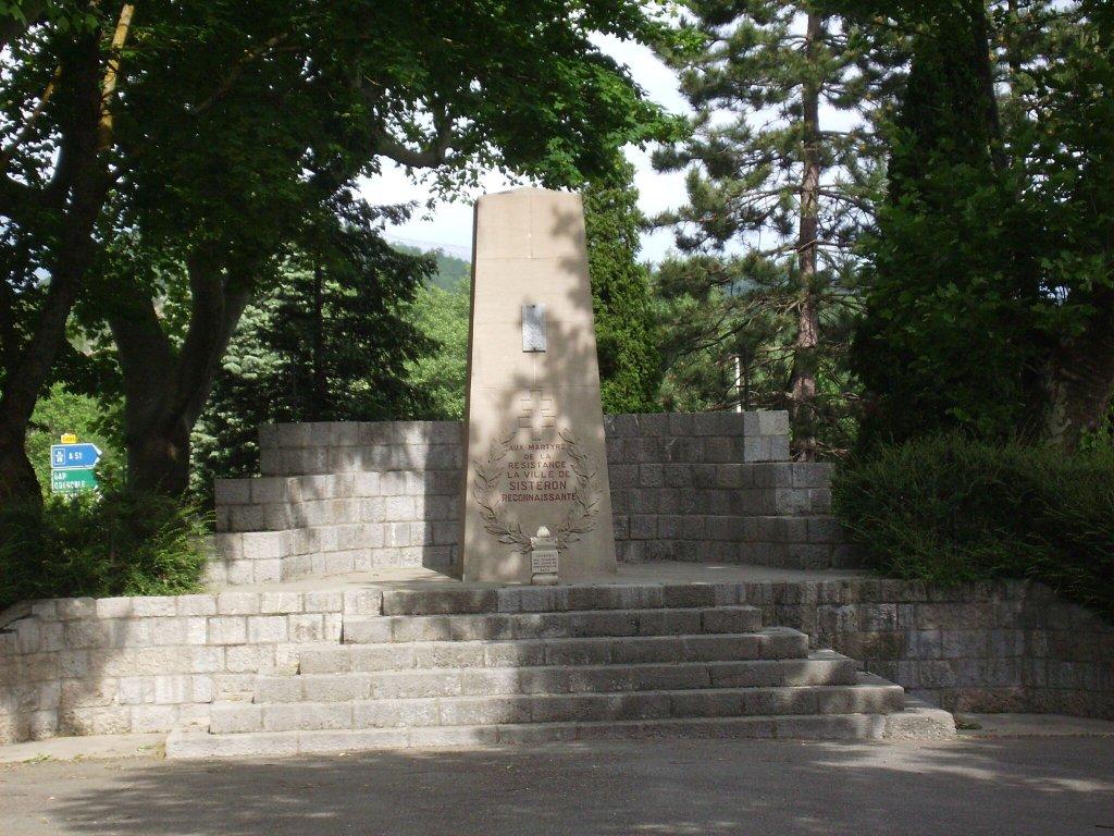 Denkmal Résistance-Märtyrer