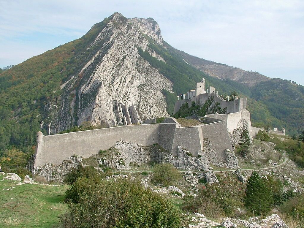 Zitadelle von Sisteron; Foto: Régis Martel, Wikimedia, CC BY-SA 3.0