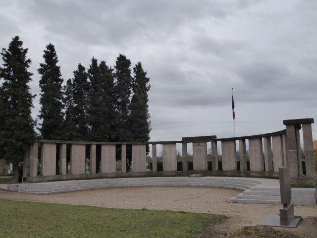 Denkmal der ermordeten Straßburger Juden
