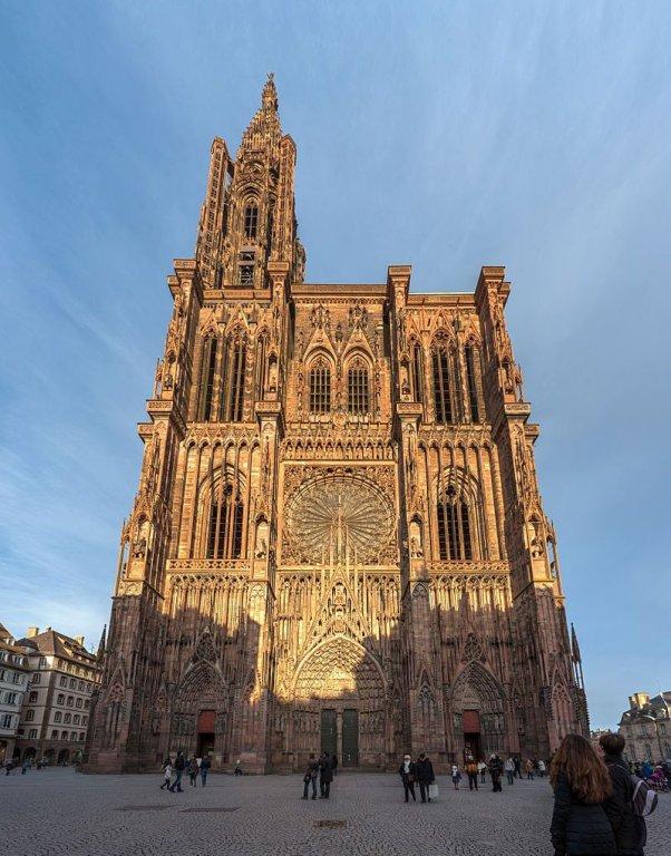 Straßburger Münster; Foto: David Iliff, Wikimedia Commons, CC-BY-SA 3.0