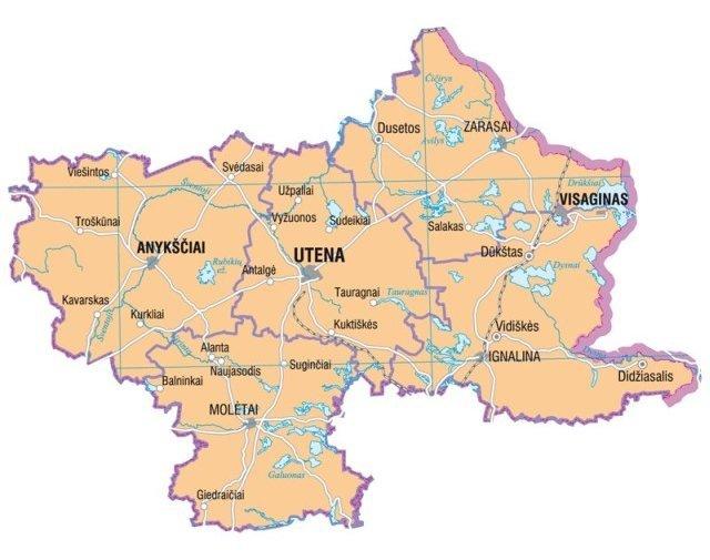 Bezirk Utena (L. Briedis)