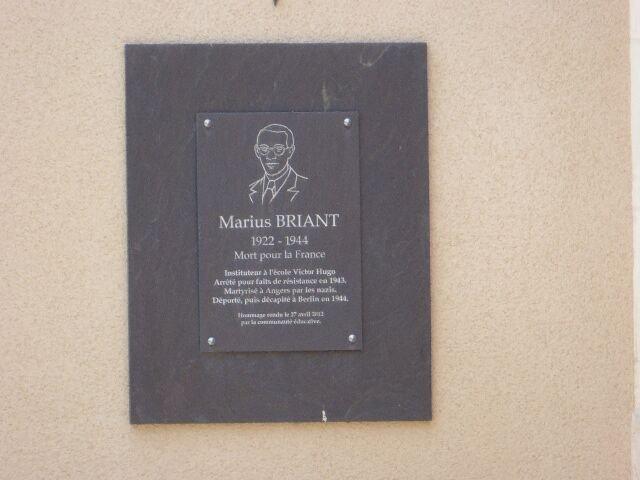 Gedenktafel Marius Briant